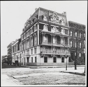 Photographer unknown. Leonard Jerome house. ca. 1875. Museum of the City of New York. X2010.11.4392