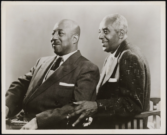 Unknown. [Eubie Blake and Noble Sissle.] ca. 1955. Museum of City of New York. F2013.41.7072.