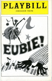 Theater program for Eubie!, 1978. Museum of the City of New York. Theatrical production files.