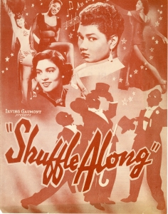 Flier for Shuffle Along, ca. 1952. Museum of the City of New York. Theatrical production files.