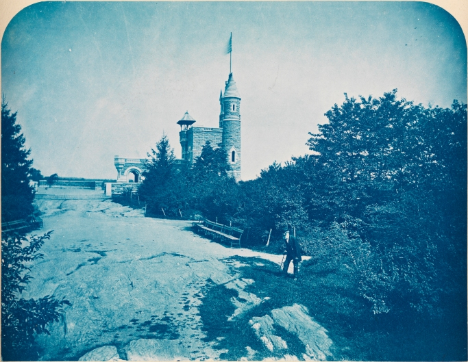 [Belvedere Castle, looking north.]