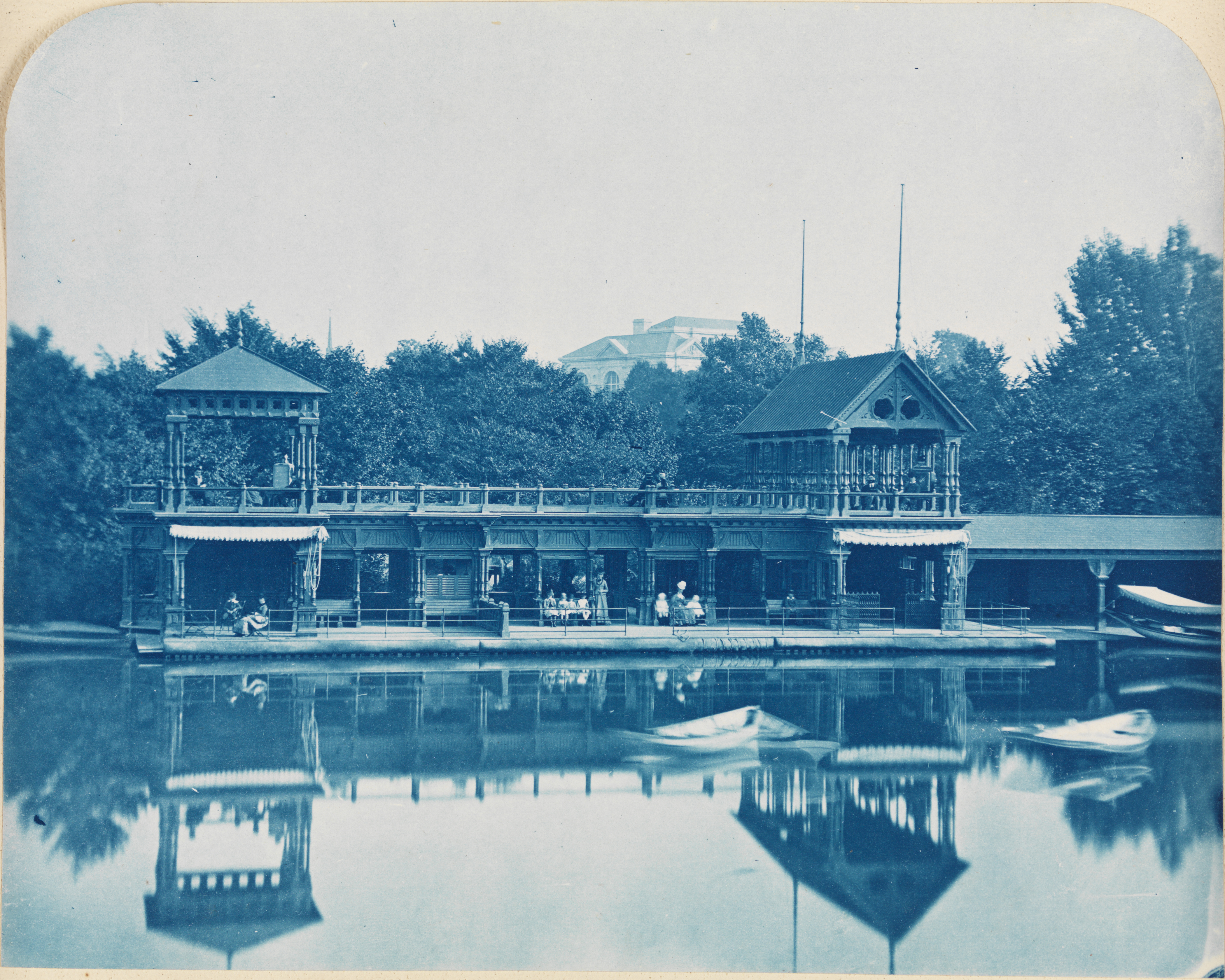 [Boat House, Central Park.]