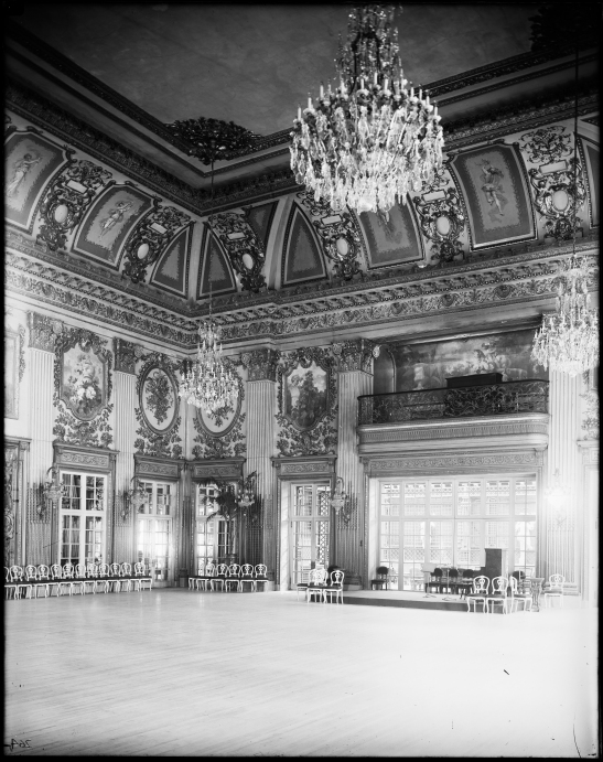 Ballroom of Sherry's Hotel.