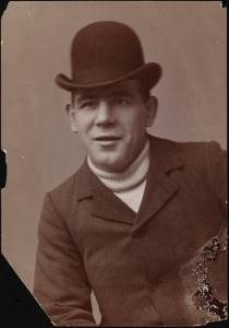Photographer unknown. Chuck Connors. ca. 1890. Museum of the City of New York. F2012.58.276