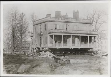 Photographer unknown. [Hamilton Grange]. ca. 1892. Museum of the City of New York. X2010.11.1830