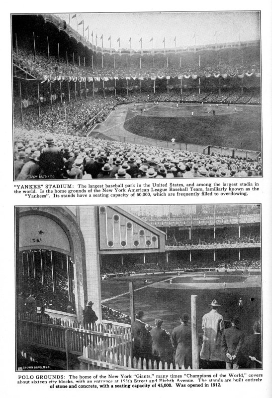 Yankee Stadium and Polo Grounds