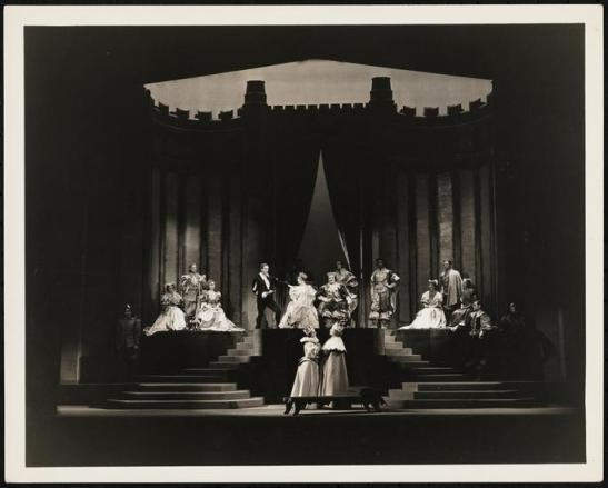 Vandamm. [Hamlet theater still.] 1936. Museum of the City of New York. F2013.41.2961.