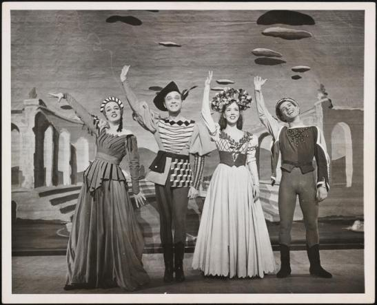 Eileen Darby (1916-2004). [Kiss Me, Kate theater still.] 1948. Museum of the City of New York. F2013.41.3641.