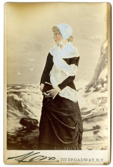 Mora. [Annie Russell?] ca. 1880. Museum of the City of New York. 49.392.113