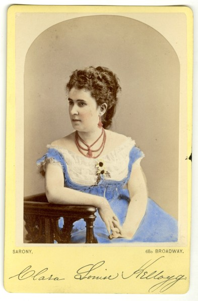 Sarony. [Clara Louise Kellogg]. ca. 1870. Museum of the City of New York. 53.230.103