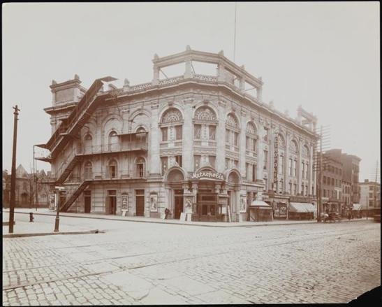 Byron Company (New York, N.Y.). Theaters, Metropolis Theatre. 1903. Museum of the City of New York. 29.100.1197
