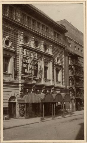 George F. Arata. [Lyric Theatre.] 1904. Museum of the City of New York. 43.316.55.