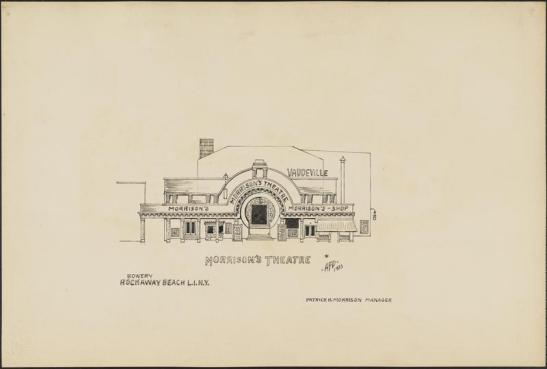 Anthony F. Dumas. Morrison's Theatre. 1933. Museum of the City of New York. 75.207.41.