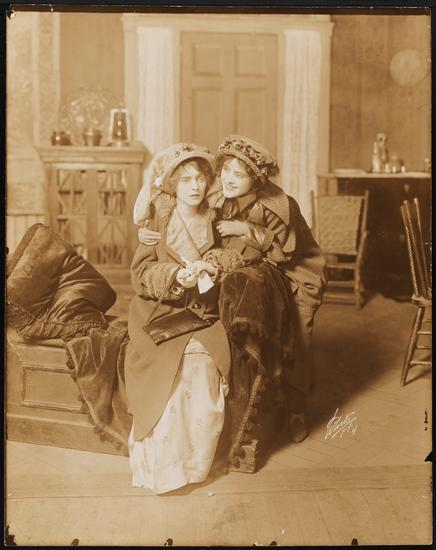 White Studio (New York, N.Y.), 1914. [Mabel Taliaferro as Victoria Claffenden and Edith Taliaferro as Gail Claffenden in