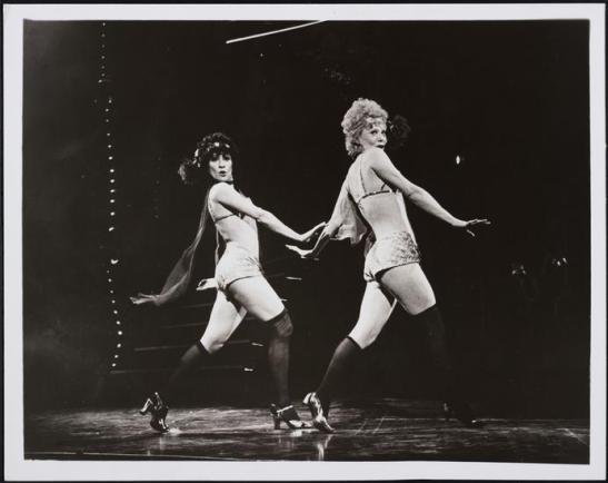 Unknown. [Chita Rivera as Velma Kelly and Gwen Verdon as Roxie Hart in Chicago.] 1975. Museum of the City of New York. 75.166.15.