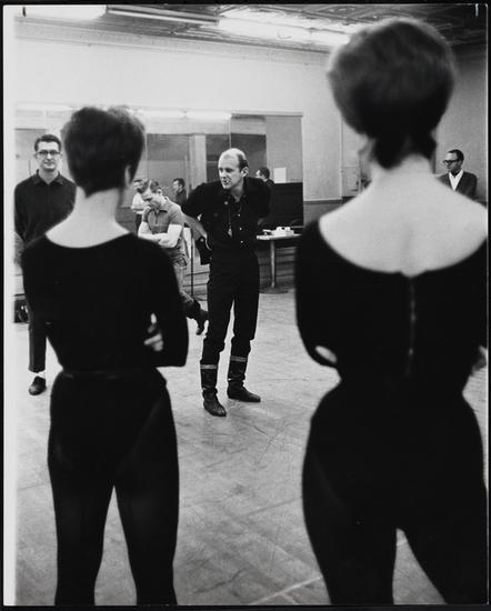 Friedman-Abeles. [Bob Fosse in rehearsal for Pleasures and Palaces.] 1965. Museum of the City of New York. F2013.41.5733.