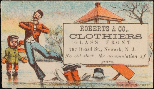 Roberts & Co., Clothiers. 1881. Museum of the City of New York. F2012.99.720