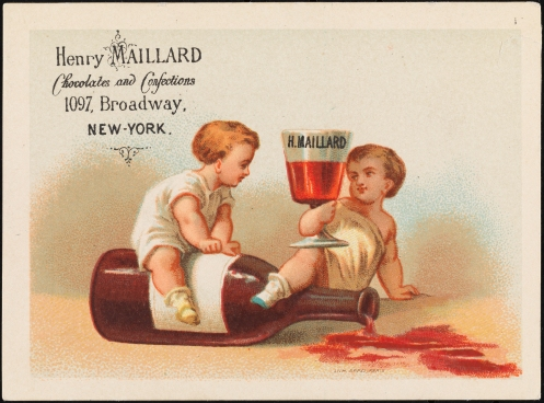 Henry Maillard Chocolates and Confections. 1875-1900. Museum of the City of New York. X2012.98.106