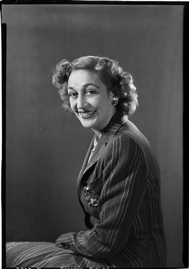 Lucas-Pritchard/Lucas-Monroe. [Dorothy Fields.] ca. 1939. Museum of the City of New York. 80.104.1.3039.