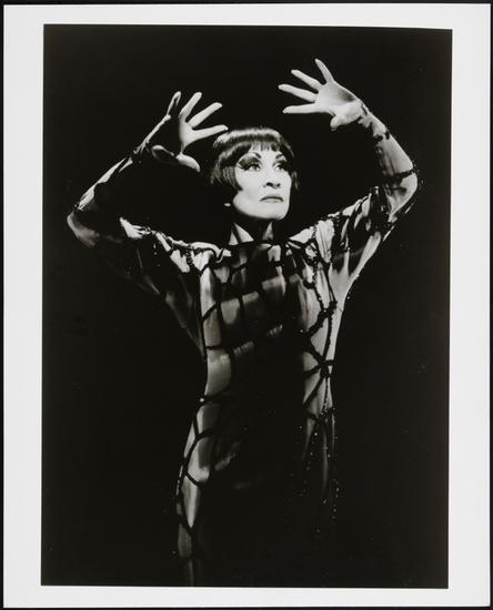 Unknown. [Chita Rivera as the Spider Woman/Aurora in Kiss of the Spider Woman.] 1993. Museum of the City of New York. 96.130.8.